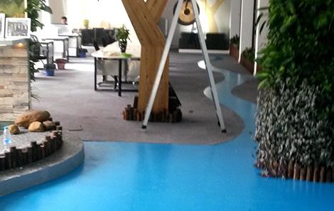 上海海纳尔立体绿化办公室