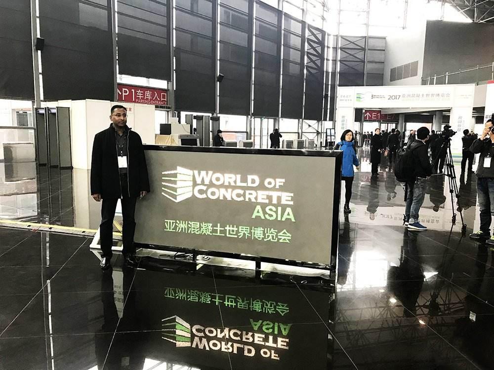 2017亚洲混凝土世界博览会召开,维弗新型地坪产品受欢迎