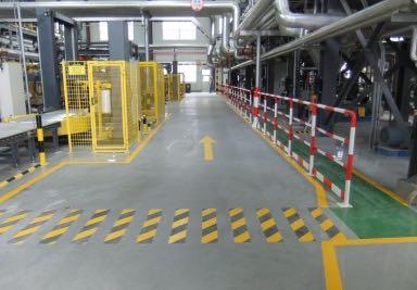 重工业机械厂房地坪